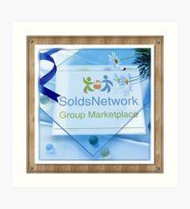 SoldsNetwork  Art Print