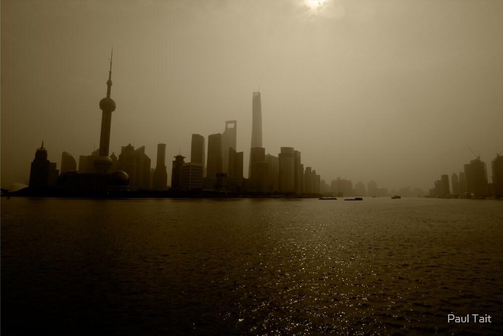 Shanghai Skyline by Paul Tait