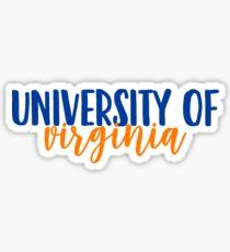 University of Virginia Sticker