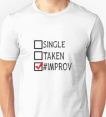 #improv Unisex T-Shirt