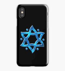 Star of David, ✡, Hexagram, Israel, Judaism, Space iPhone Case/Skin