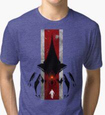 The commander t-shirt & Poster Tri-blend T-Shirt
