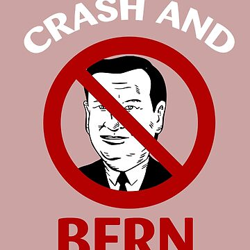 Crash And Bern Bernie Sanders Support Ted Cruz by AlwaysAwesome