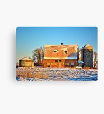 The Dead Of Winter Canvas Print