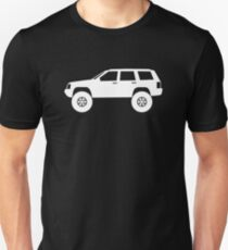 Lifted 4x4  - for Jeep Grand Cherokee ZJ 1993-1998 enthusiasts T-Shirt
