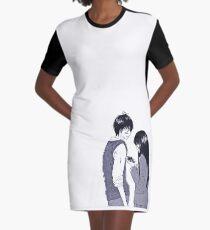 Kazehaya Sawako Graphic T-Shirt Dress