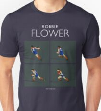 Robbie Flower, Melbourne closeup (for dark blue shirts only) Unisex T-Shirt