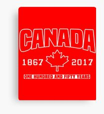 Canada 150th Anniversary Canvas Print