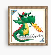 Keywebco logo Draco  Canvas Print