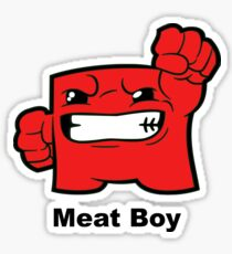 Meatboy Sticker