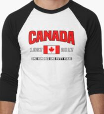 Canada 150 Anniversary Men's Baseball ¾ T-Shirt