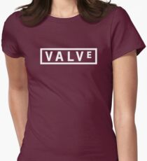 Valve Logo Womens Fitted T-Shirt