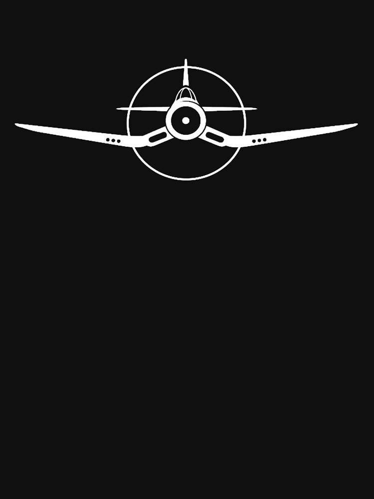 Corsair WW2 Fighter Plane by cranha