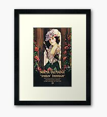 Norma Talmadge in Smilin' Through (1922) Framed Print