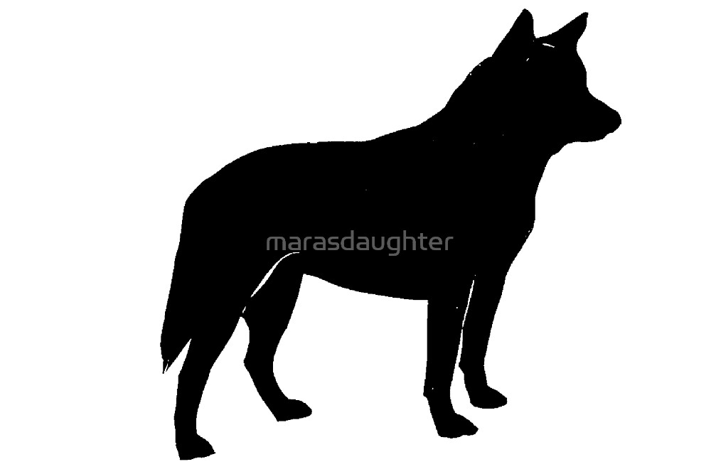 ACD silhouette by marasdaughter