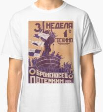 THE BATTLESHIP POTEMKIN Movie Poster Classic T-Shirt