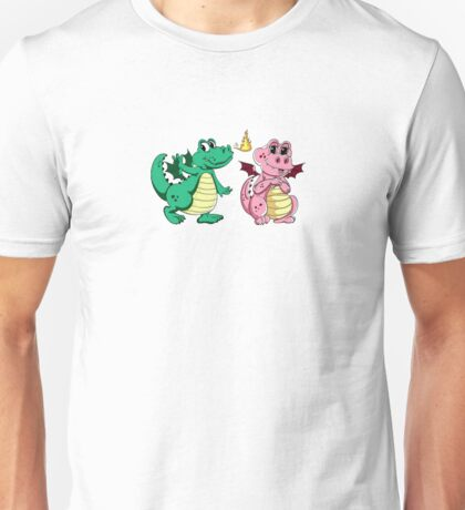 Pinky and Green happy pair T-Shirt
