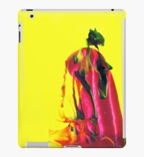 Geisha - Cool Red Black And Yellow Asian Cute Girly Gifts Design From Painting  iPad Case/Skin