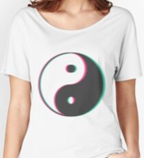 YinYang Transparent Tumblr Style Women's Relaxed Fit T-Shirt