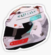 Sebastian Vettel 2016 Helmet Sticker