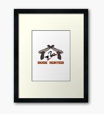 Duck Hunter Framed Print
