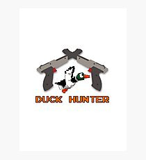Duck Hunter Photographic Print