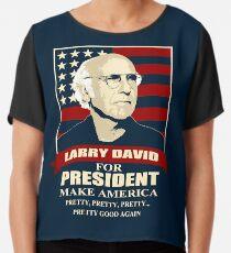 Larry David für den Präsidenten Chiffontop