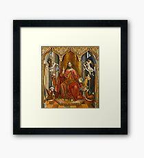 The Blessing Christ Framed Print