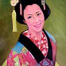 maiko-san by Hidemi Tada