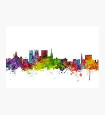 York England Skyline Photographic Print