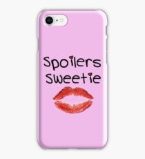 Spoilers Sweetie V1 ( Phone Cases ) iPhone Case/Skin