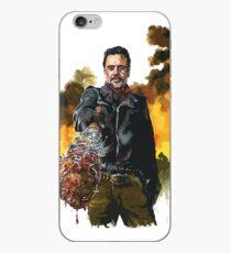 negan - the walking dead iPhone Case