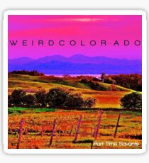 Part-Time Savants Weird Color-ado EP Sticker