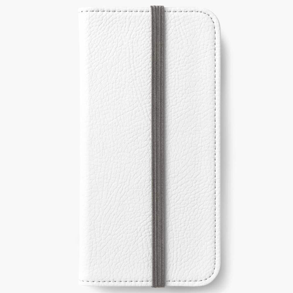 White test iPhone Wallet