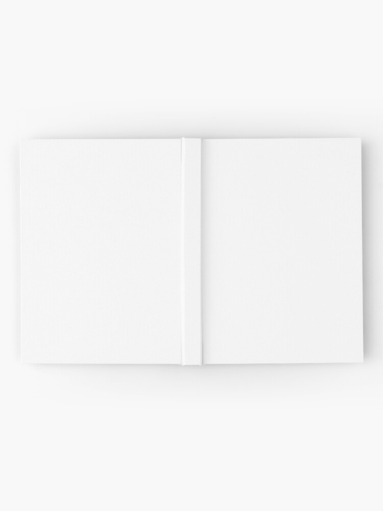 Alternate view of White test Hardcover Journal