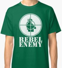 Rebel Enemy White Classic T-Shirt