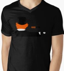 Mad Man Mens V-Neck T-Shirt