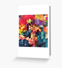 pattern sword Greeting Card