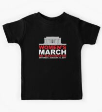Women's March on Washington January 2017 Kids Clothes