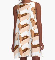 Weenie Dog A-Line Dress
