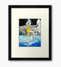 Melting From Within Framed Print