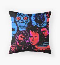 John Carpenter Throw Pillow