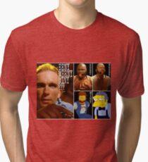 Pulp Fiction movie red ball gag gimp moe Tri-blend T-Shirt