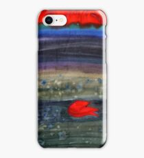 Two flowers watercolor iPhone Case/Skin