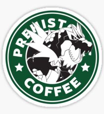 Prehistoric Coffee Sticker