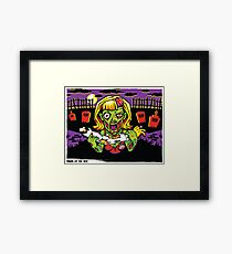 Dawn of the Red Framed Print