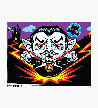Cunt Dracula Photographic Print