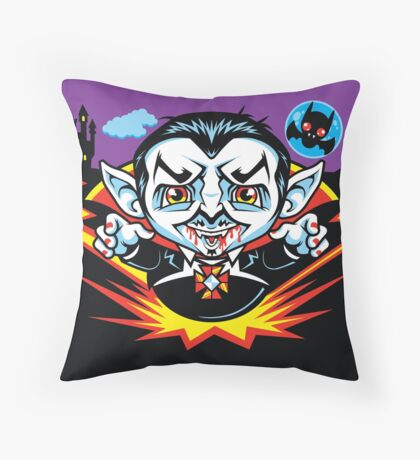Cunt Dracula Throw Pillow