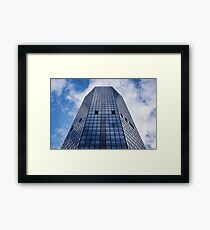 Architecture Viewed Through The Sapphire Prism | New York City, New York Framed Print