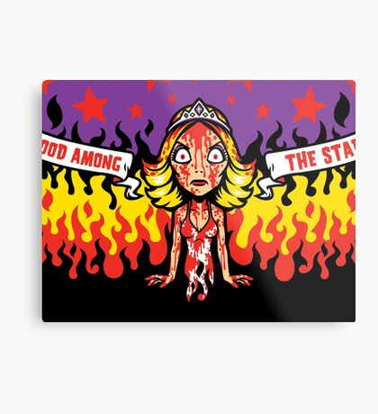 Curse of Blood Metal Print